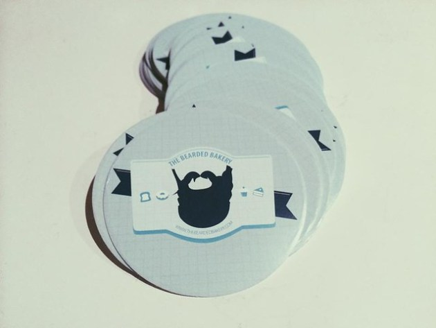 Bearded Bakery Stickers
