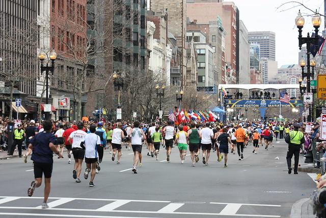 Maratón de Boston - Boylston Street