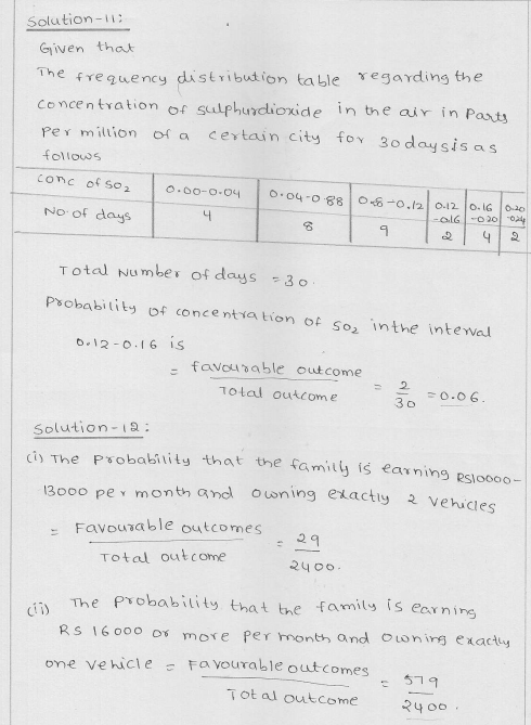 RD Sharma Class 9 Solutions Chapter 25 Probability 8