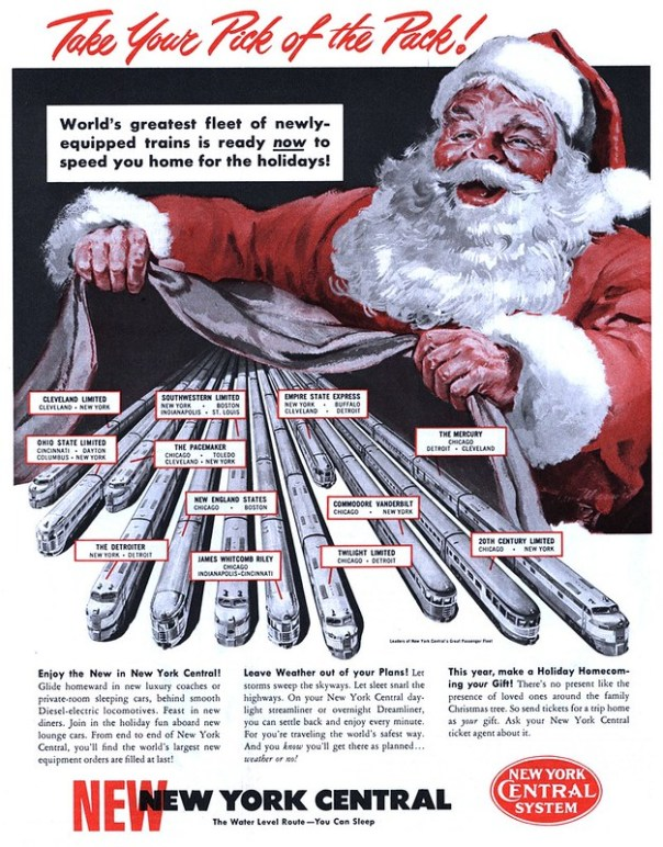 New York Central Railroad - published in Collier's - December 3, 1949