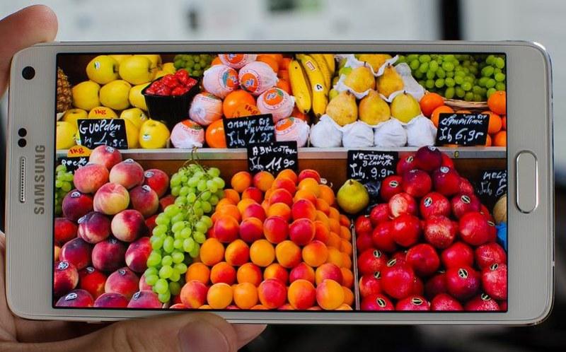 Galaxy Note 4 android pantalla