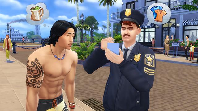 Les Sims 4 Au travail - Detective