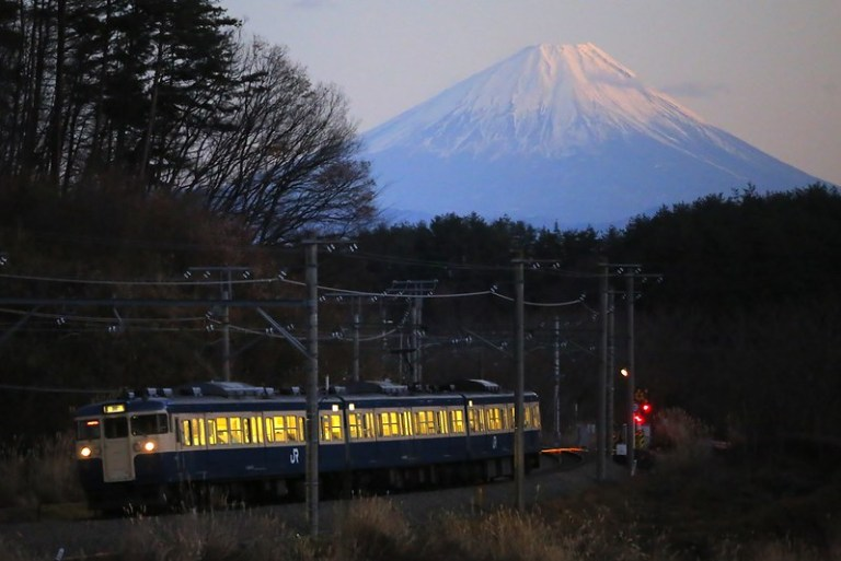 Series 115 Type 300 with Mt.Fuji