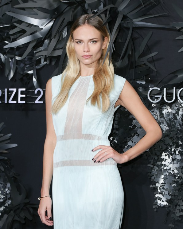 Natasha Poly attends the Hugo Boss Prize 2014 Event at the Guggenheim Museum New York