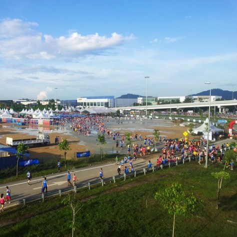 The Finish Area
