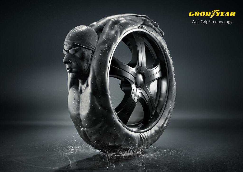Goodyear - Swimmer