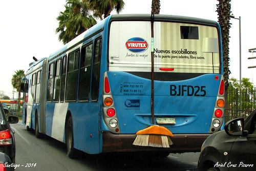 Transantiago - Inversiones Alsacia - Marcopolo Gran Viale / Volvo (BJFD25)