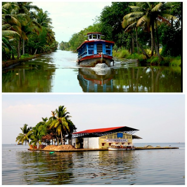 ferry local backwaters kerala