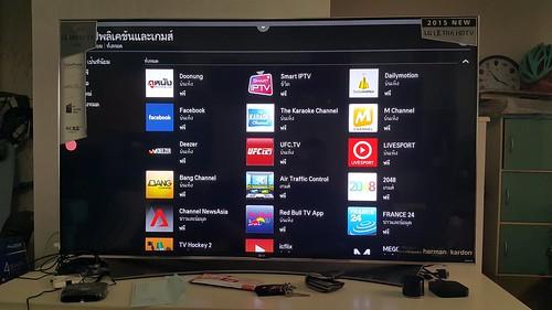 รายชื่อ App ต่างๆ สำหรับการใช้งาน LG SUPER UHD 65UF950T ในฐานะ Smart TV