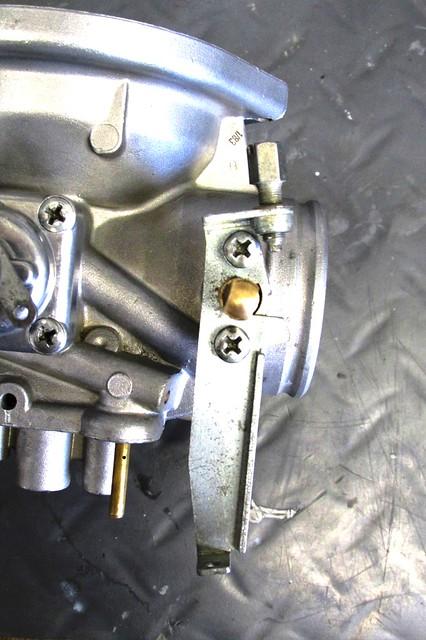 Throttle Shaft Bracket Tightened Down