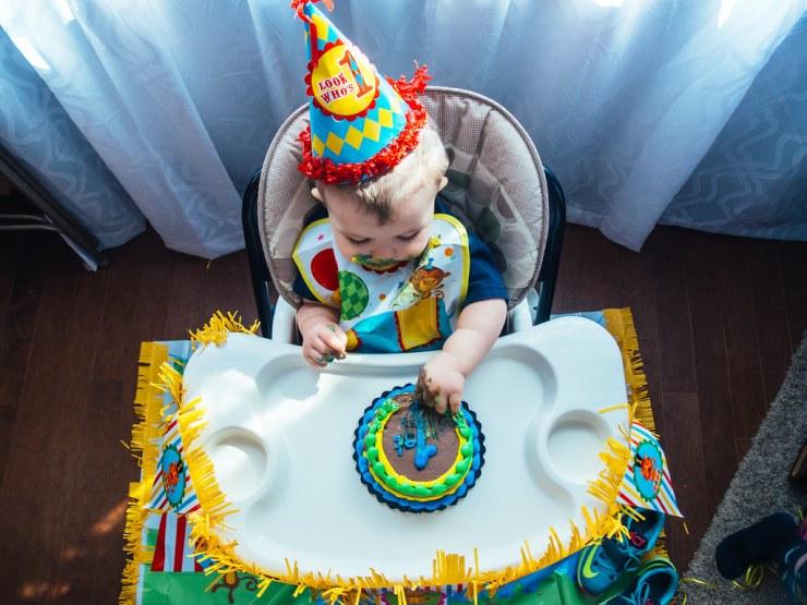 Ezra's First Birthday