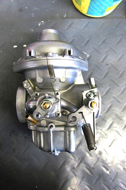Engine Side of Restored / Rebuilt Carburetor
