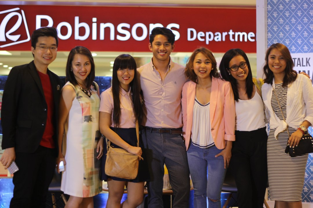 David Guison with the Original Penguin Philippines and Abreeza Mall teams