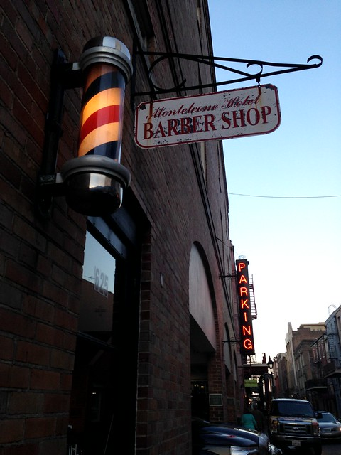 Monteleone Hotel Barber Shop