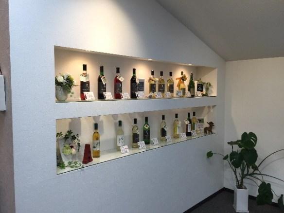 ワインが並んでまーす!
