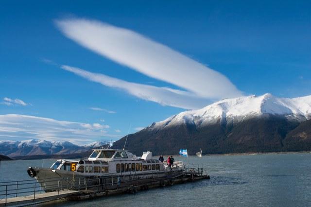 Perito Moreno boat