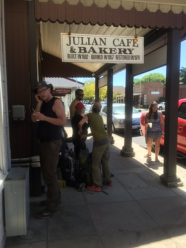 Hiker reunions in Julian