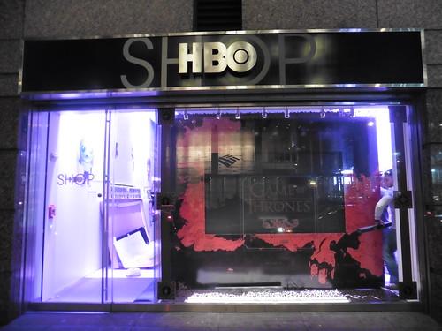 Tiendas y lugares frikis en Nueva York: HBO Store