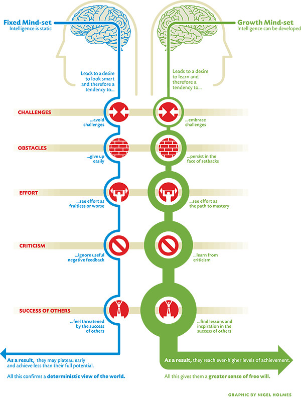 Mindsets Info Graphic