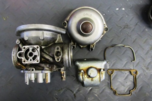 Major Castings After Disassembly