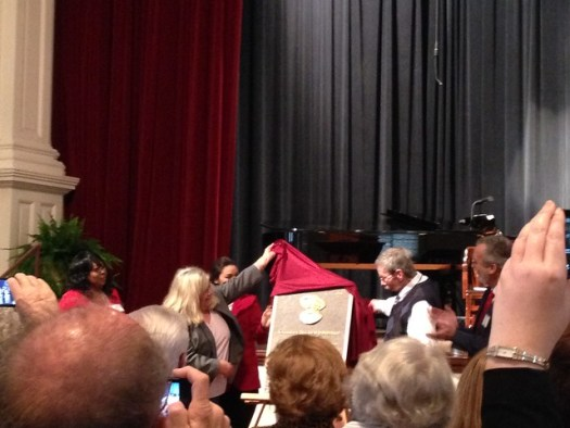 Installation of Kathryn Tucker Windham to Alabama Women's Hall of Fame, Judson College, Marion AL