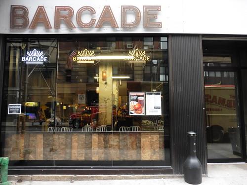 Tiendas y lugares frikis en Nueva York: Barcade
