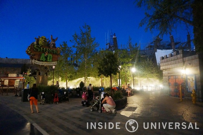 Shrek 4D Debuts New Entrance & Beautiful New Queue