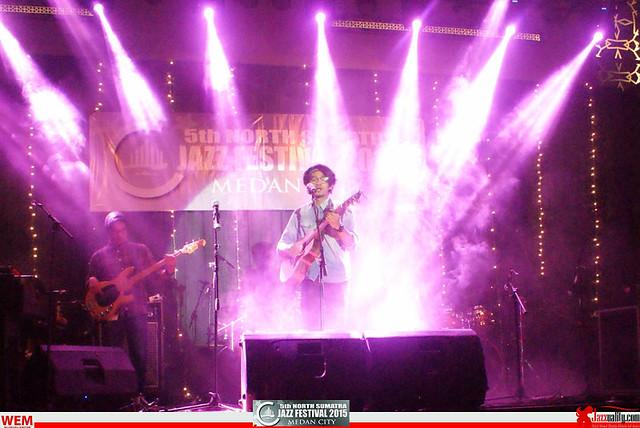 North Sumatra Jazz Festival 2015 - .Rio Riezky (1)