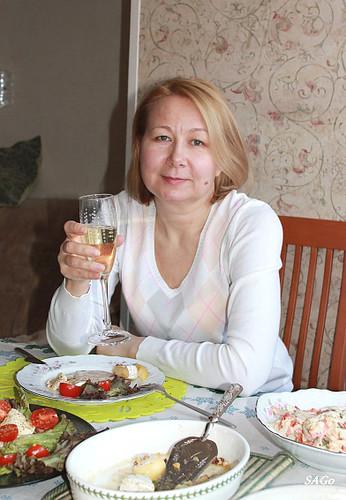 дегустация российского шампанского, брют, Фанагория, Светлана Горбуненко