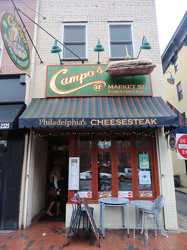 Dónde comer y gastronomía en Filadelfia (Estados Unidos) - Restaurante delicatessen Campo's Deli Philly Cheese Steak.