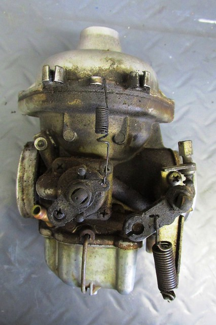 Engine Side of Carburetor