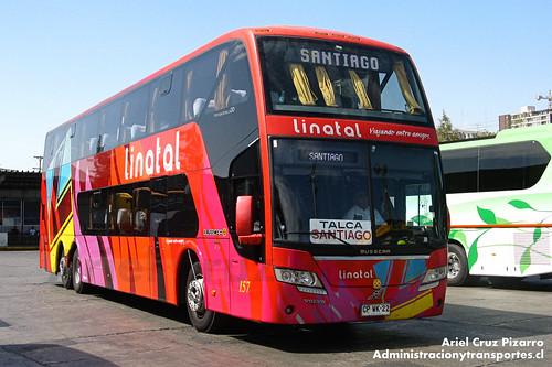 Linatal - Santiago - Busscar Panorâmico DD / Volvo (CPWK22)