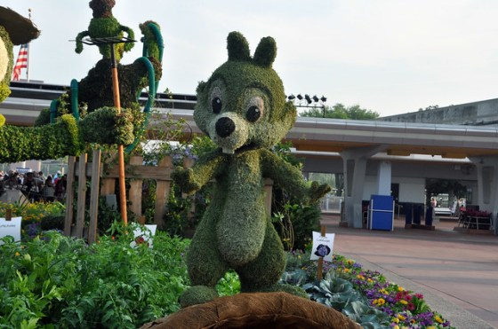 Dale topiary