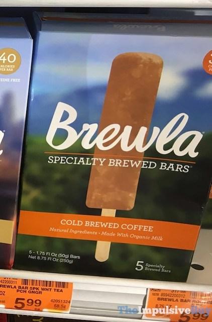 Brewla Cold Brewed Coffee Specialty Brewed Bars