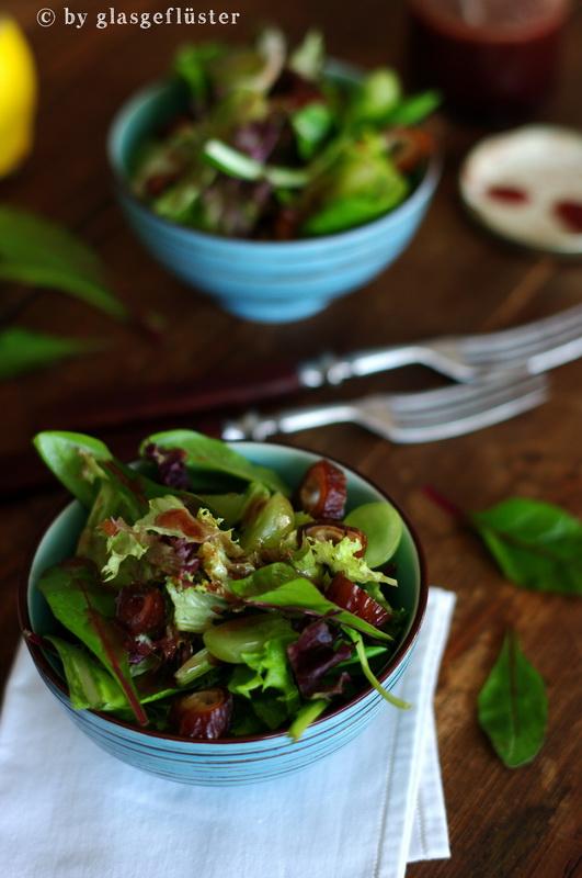 Salat mit Holunderdressing by Glasgeflüster 3 klein