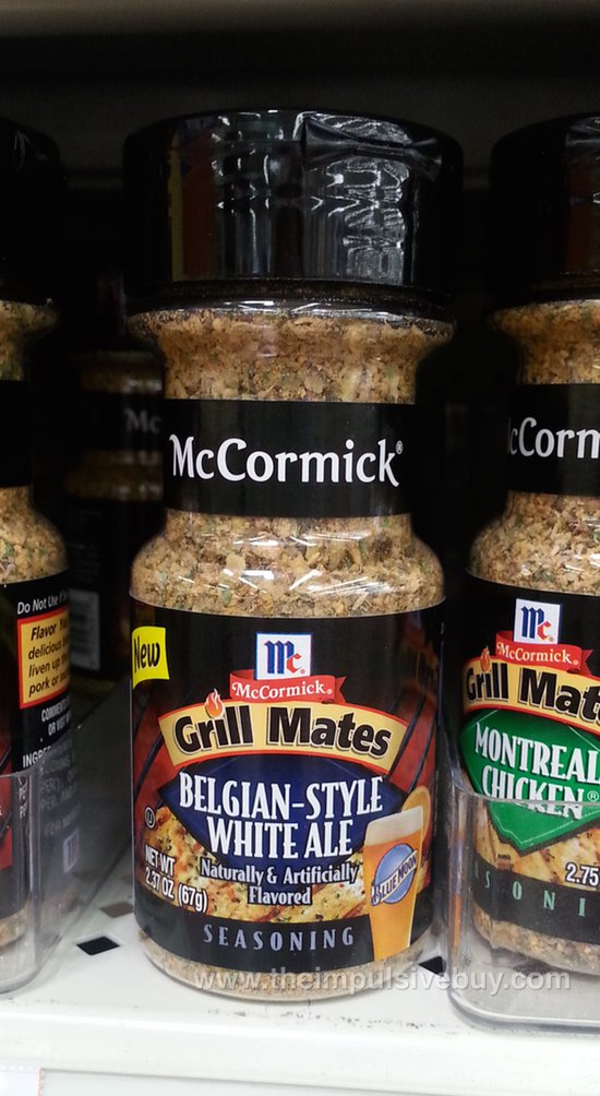 McCormick Grill Mates Belgian-Style White Ale Seasoning