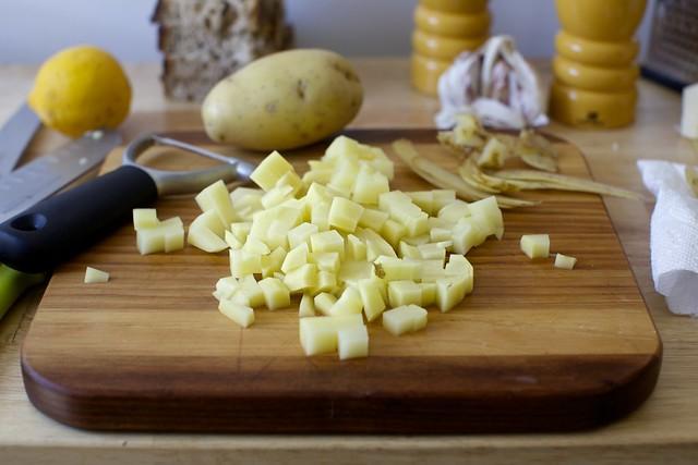 just a little potato, for bulk
