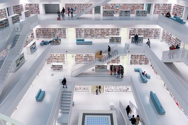Stadtbibliothek Stuttgart am Mailänder Platz
