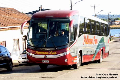 Pullman Sur - Valdivia - Marcopolo Paradiso 1050 / Mercedes Benz (FBWS67)