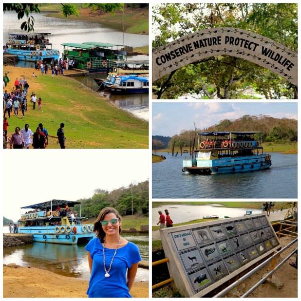 Lago Periyar Kerala
