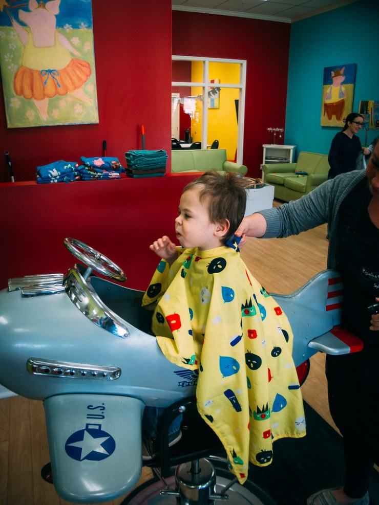 Haircut for Micah