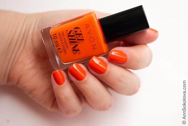 01 Avon 66737 Orange You Crazy Вибуховий апельсин Ann Sokolova swatches
