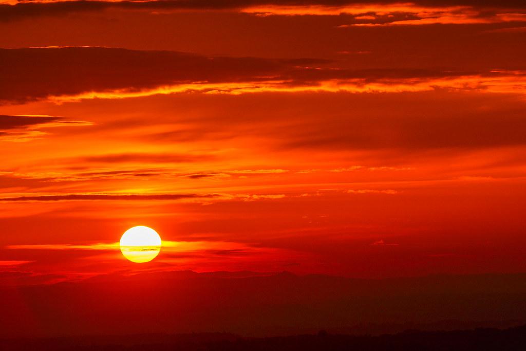 115/365 Setting Sun, April 25