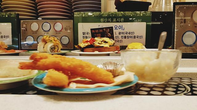 daegu snapshots // debec sushi-go-round