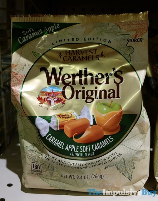 Limited Edition Harvest Caramels Werther's Original Caramel Apple Soft Caramels