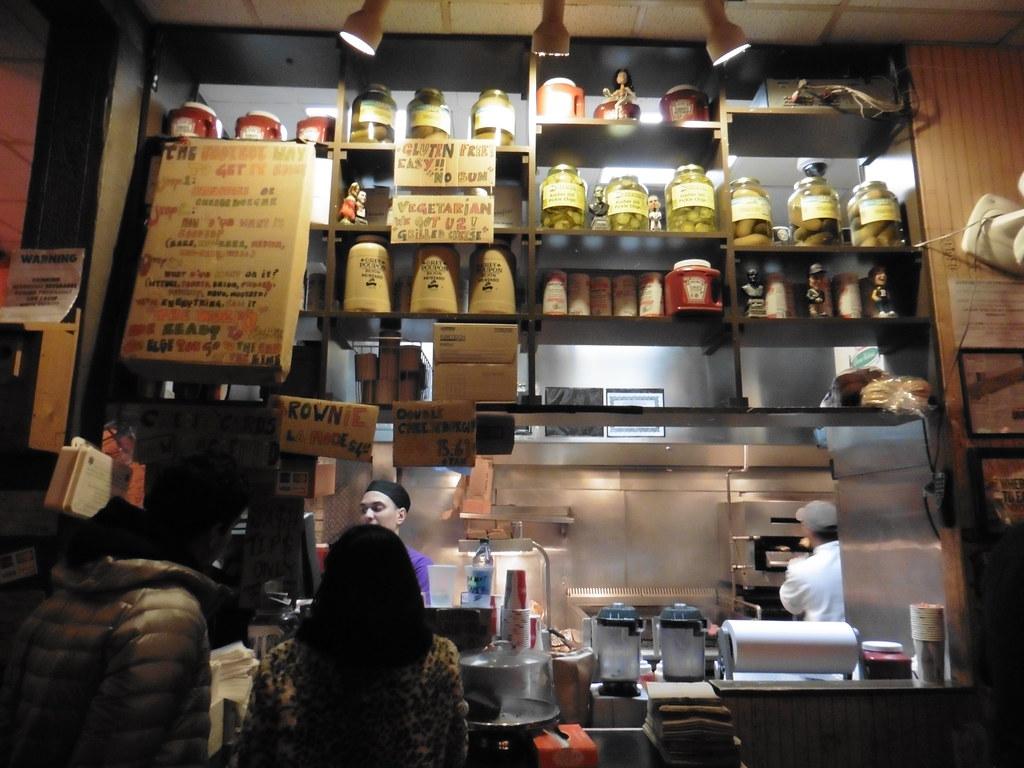 Dónde comer hamburguesas y gastronomía en Nueva York (Estados Unidos) - Hamburguesería Burger Joint.