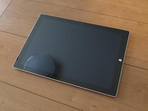 Surface Pro 3本体前面