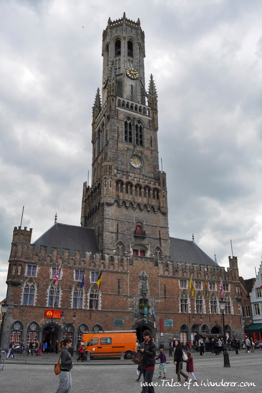 BRUGGE - Belfort van Brugge
