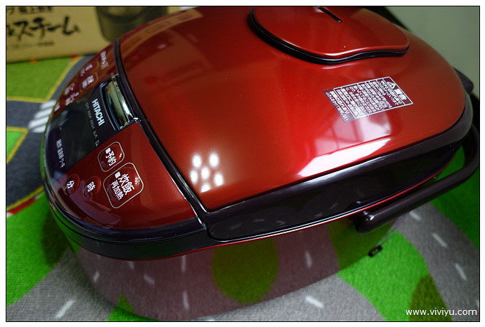 [購物.電器]日立電鍋(RZ-RT18BK)~美得像跑車之日本血統炊飯器 @VIVIYU小世界