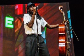 Blood Orange at the Lincoln Theatre in Washington, DC on September 13th, 2016